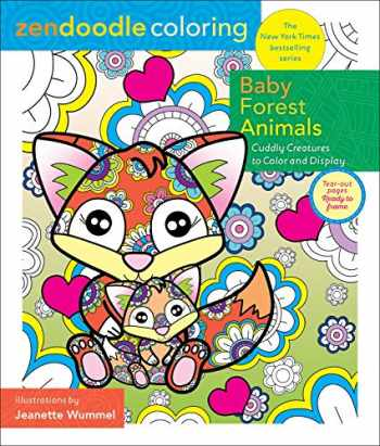 Sell, Buy or Rent Zendoodle Coloring: Baby Forest Animals ...