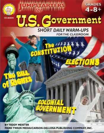9781580374743-1580374743-Mark Twain - Jumpstarters for U.S. Government, Grades 4 - 8