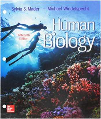 9781260149319-1260149315-GEN COMBO LOOSELEAF HUMAN BIOLOGY; CONNECT ACCESS CARD