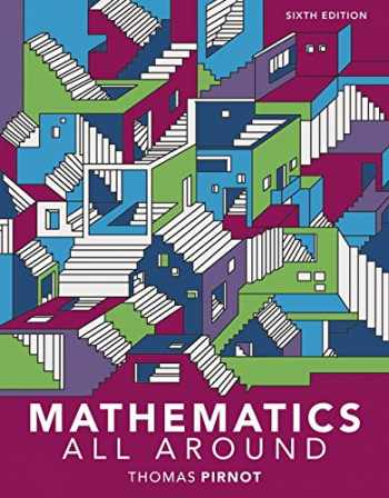 9780134751740-0134751744-MyLab Math with Pearson eText -- 24 Month Standalone Access Card -- for Mathematics All Around (6th Edition)