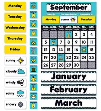 9781338236217-1338236210-Aqua Oasis: Calendar Bulletin Board