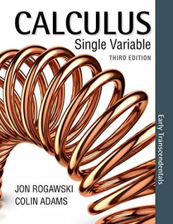 9781464171741-1464171742-Calculus Early Transcendentals Single Variable