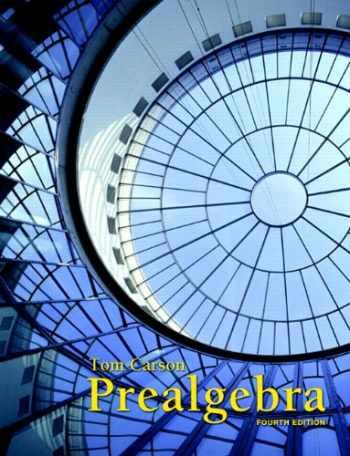 9780321756954-0321756959-Prealgebra (4th Edition)