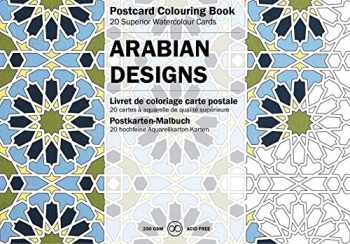 9789460096259-9460096255-Arabian Designs: Postcard Colouring Book (Multilingual Edition) (Postcard Colouring Books) (English and German Edition)