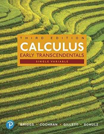 9780134996103-0134996100-Single Variable Calculus: Early Transcendentals, Books a la Carte, and MyLab Math with Pearson eText -- 24-Month Access Card Package (3rd Edition)