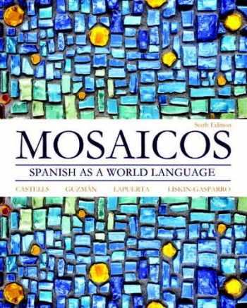 9780205255405-020525540X-Mosaicos: Spanish as a World Language (6th Edition) - Standalone book (Myspanishlab)