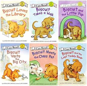 9780062347312-0062347314-I Can Read : Biscuit and the Lost Teddy Bear, Biscuit Loves the Library, Biscuit Visits the Big City, Biscuit Meets the Class Pet, Biscuit and the Little Pup, Biscuit Takes a Walk - 6 Book Set