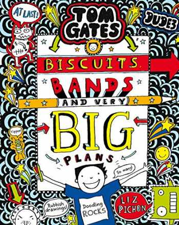 9781407189307-1407189301-Tom Gates: Biscuits, Bands and Very Big Plans