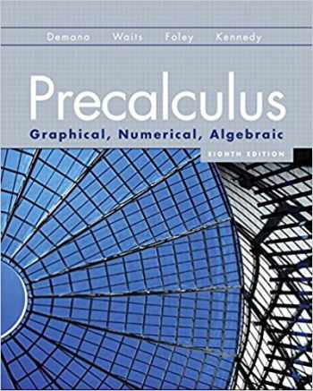 9780131369061-0131369067-Precalculus: Graphical, Numerical, Algebraic (8th Edition)