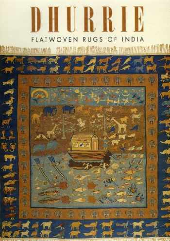 9781851493388-1851493387-Dhurrie--Flatwoven Rugs of India