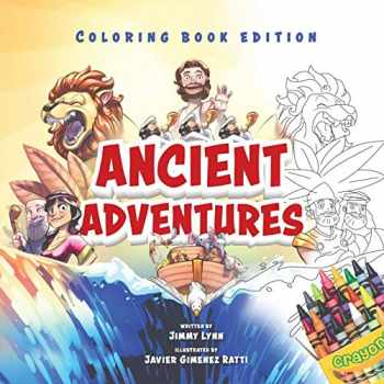 9781949474237-1949474232-Ancient Adventures: 20 Epic Stories from the Bible, Coloring Book Edition