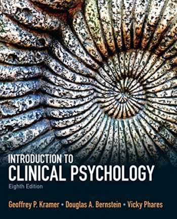 9780205871858-0205871852-Introduction to Clinical Psychology (8th Edition)