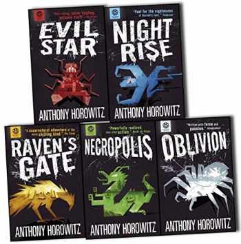 9781406354058-1406354058-Power of Five Books Collection 5 Books Set by Anthony Horowitz (Raven's Gate, Evil Star, Night Rise, Necropolis, Oblivion)
