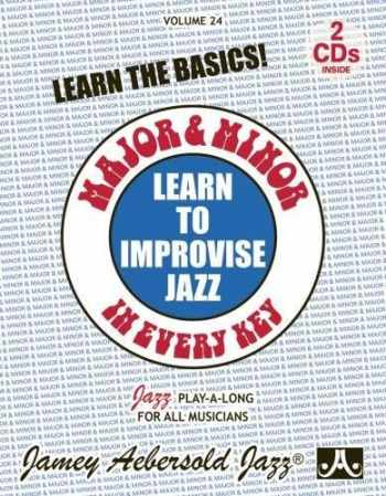 9781562241803-156224180X-Major and Minor: Learn To Improvise Jazz in Every Key, Vol. 24 (book with 2 CDs)