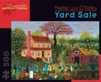 9780764963667-076496366X-Yard Sale 500 Piece Jigsaw Puzzle (Pomegranate Artpiece Puzzle)