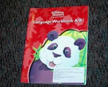 9780076122127-0076122123-Reading Mastery Language Arts Strand Grade K, Workbook A & B (READING MASTERY LEVEL VI)