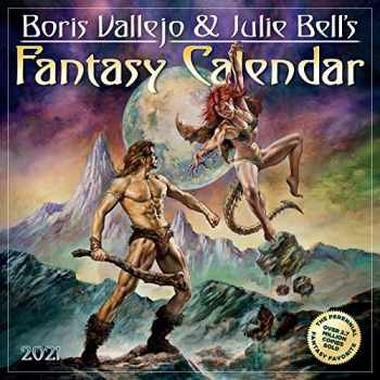 9781523508587-1523508582-Boris Vallejo and Julie Bell's Fantasy Wall Calendar 2021