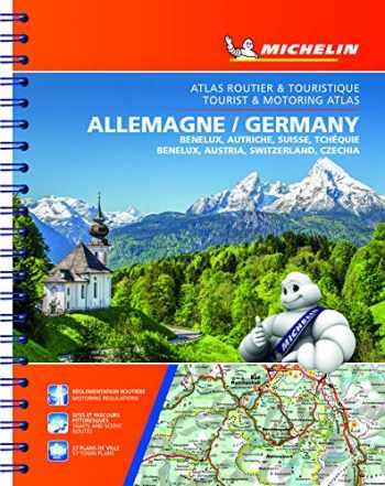 9782067235878-2067235877-Michelin Germany, Benelux, Austria, Switzerland, Czechia Tourist & Motoring Atlas (bi-lingual): Road Atlas (ATLAS (25240))