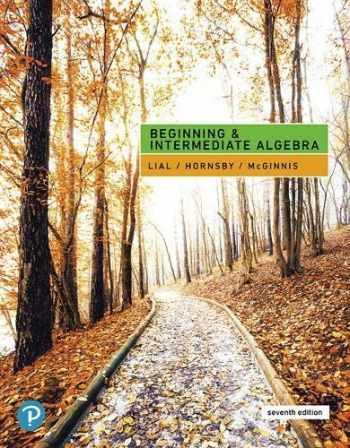 9780134895994-0134895991-Beginning and Intermediate Algebra