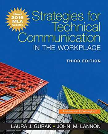 9780134586373-0134586379-Strategies for Technical Communication in the Workplace, MLA Update Edition (3rd Edition)