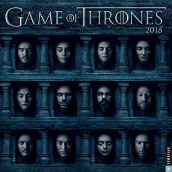 9780789333292-0789333295-Game of Thrones 2018 Wall Calendar
