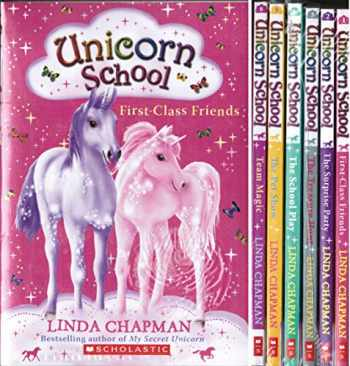 9780545687195-0545687195-Unicorn School Complete Set, Books 1-6: First-Class Friends, The Surprise Party, The Treasure Hunt, The School Play, The Pet Show, and Team Magic (6-Book Set)