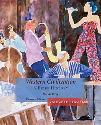 9781305091474-1305091477-Western Civilization, A Brief History, Volume II