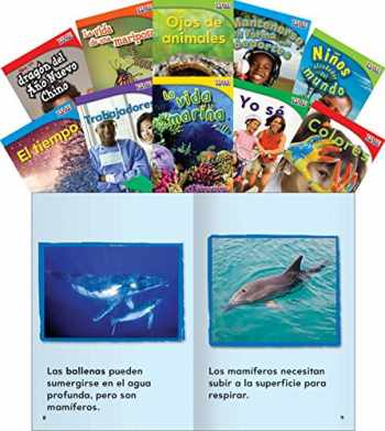 9781433350986-143335098X-Teacher Created Materials - TIME for Kids Informational Text Readers (Spanish) Set 2 - 10 Book Set - Grade 1 - Guided Reading Level A - I