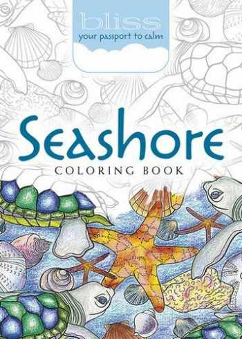 9780486810713-0486810712-BLISS Seashore Coloring Book: Your Passport to Calm (Adult Coloring)