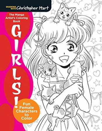 9781942021681-1942021682-The Manga Artist's Coloring Book: Girls!: Fun Female Characters to Color