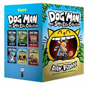 9781338603347-1338603345-Dog Man: The Supa Epic Collection: From the Creator of Captain Underpants (Dog Man #1-6 Boxed Set)