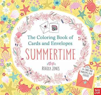 9780763693404-0763693405-The Coloring Book of Cards and Envelopes: Summertime