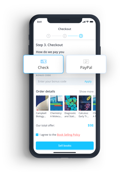 Mobile app checkout